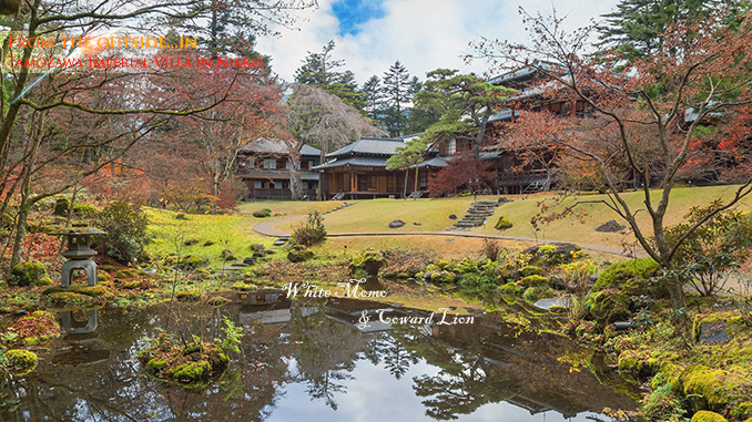Tamozawa Imperial Villa in NIkko, Tochigi Prefecture, Japan NIKKO, JAPAN - NOVEMBER 16, 2015: Tamozawa Imperial Villa first built in Tokyo in 1632. It was deconstructed and moved to the present location in Nikko, in 1898